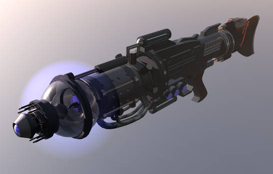 Particle Beam Cannon