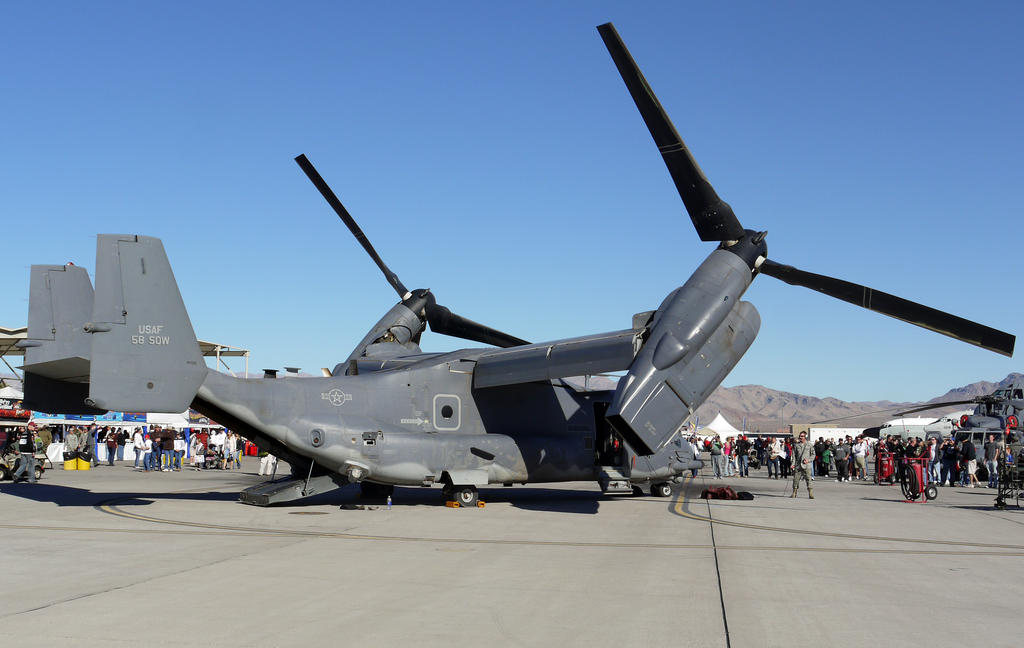 V-22 Osprey by shelbs2