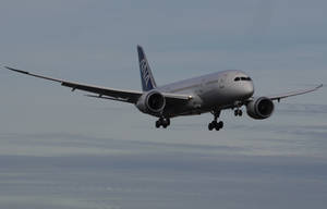 Boeing 787 landing by shelbs2