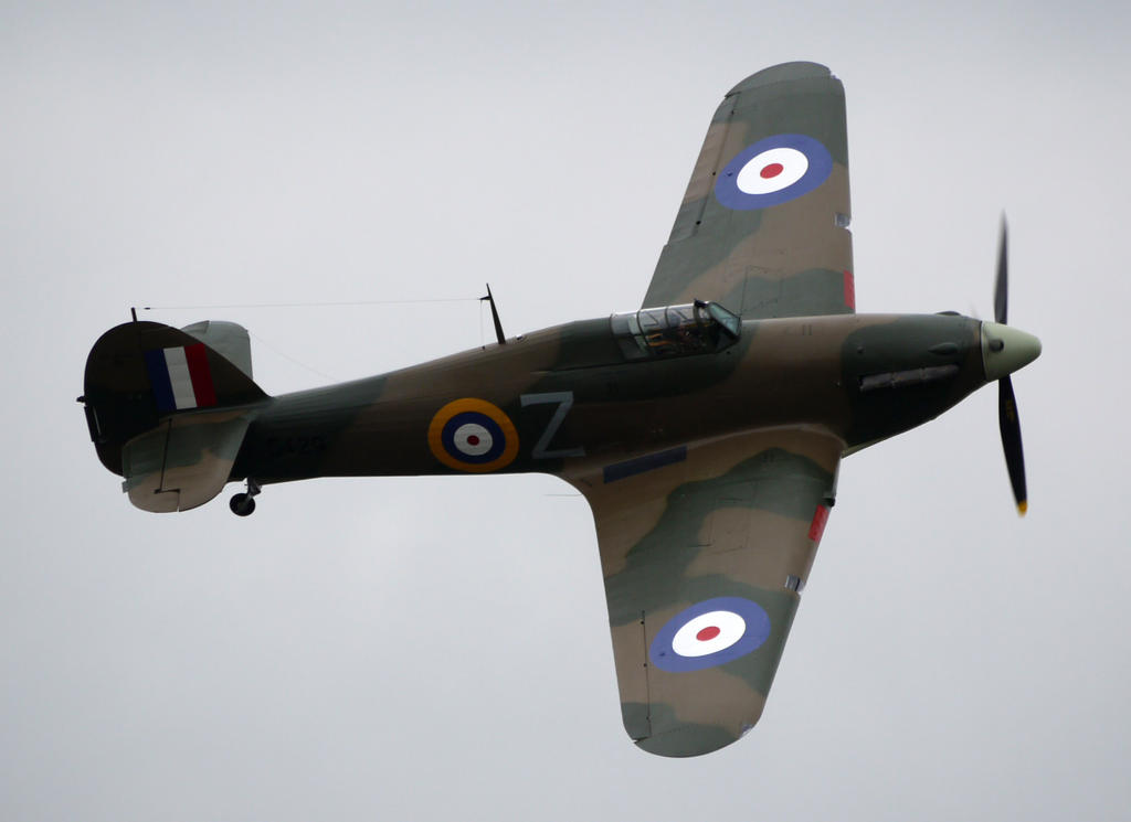 Hurricane Mk12 Flyby by shelbs2