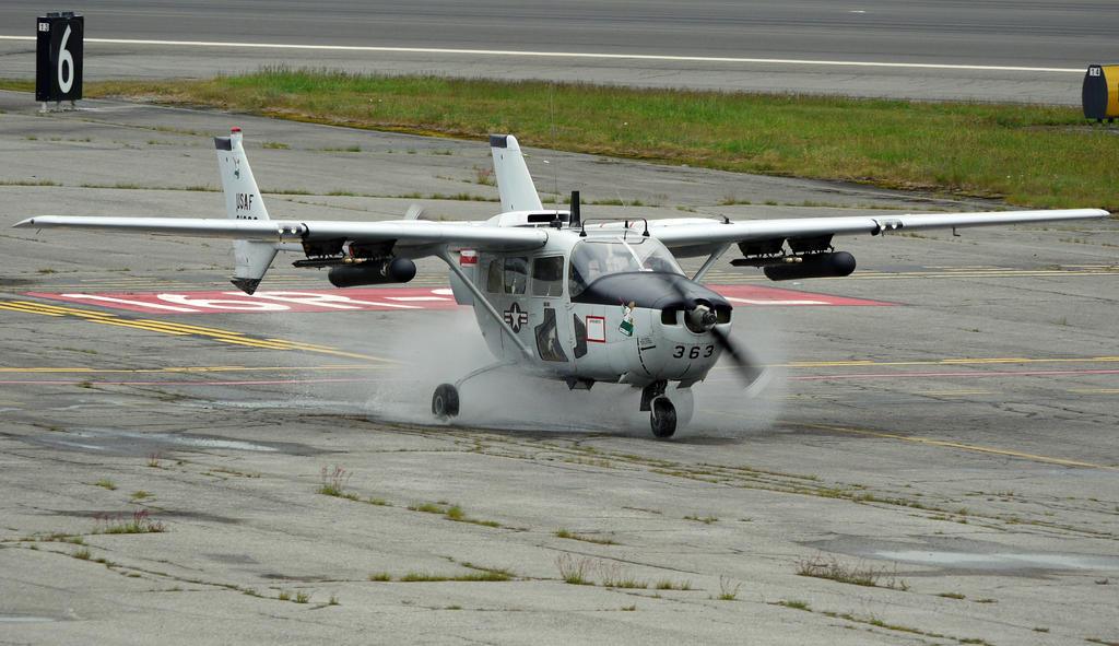 Cessna O-2 vs Puddle by shelbs2