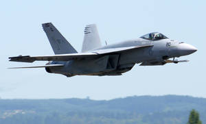 Boeing F-18E Takeoff by shelbs2