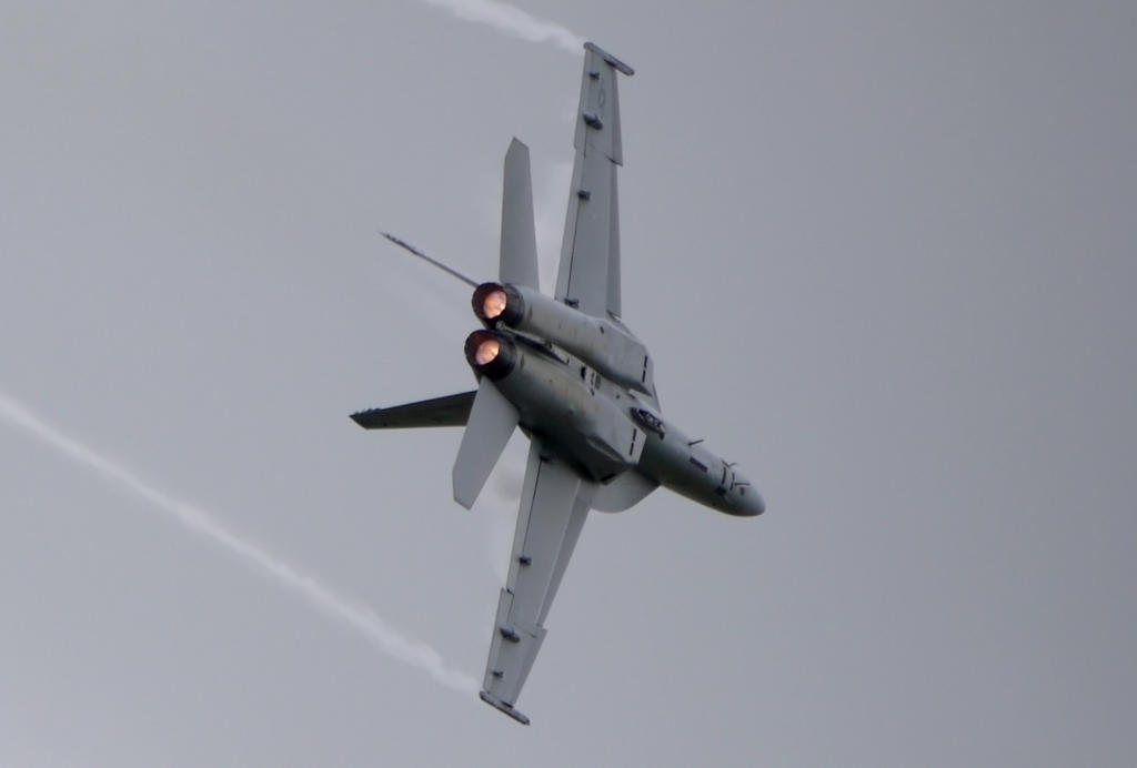 Boeing F-18E Super Hornet Turnin by shelbs2