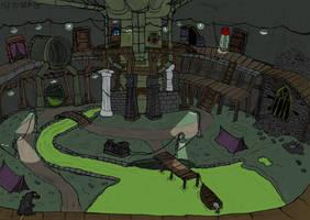 Nosferatu lair by Mara999