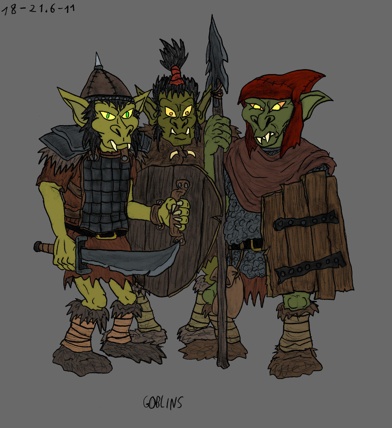 Goblins by Mara999