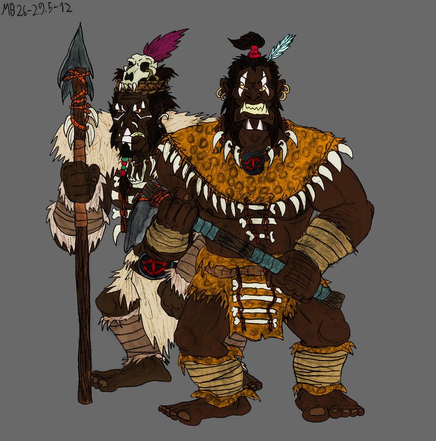 Troll-men of Far Harad by Mara999