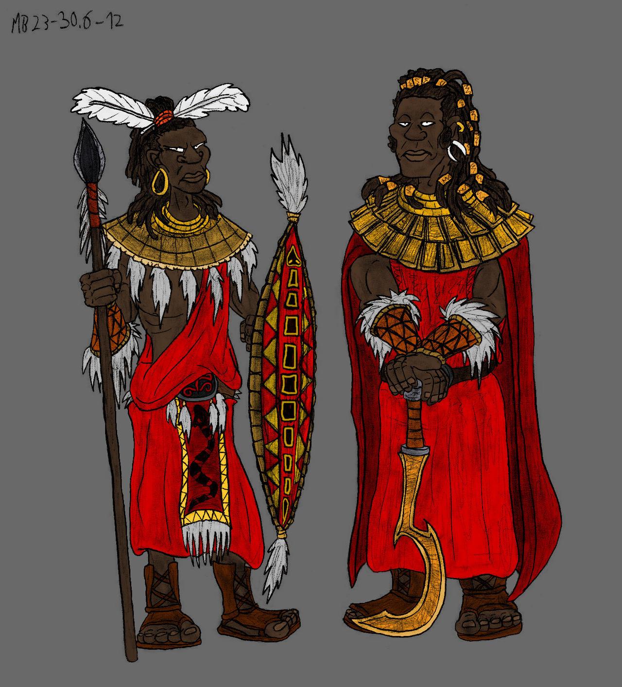 Tribesmen of Far Harad by Mara999