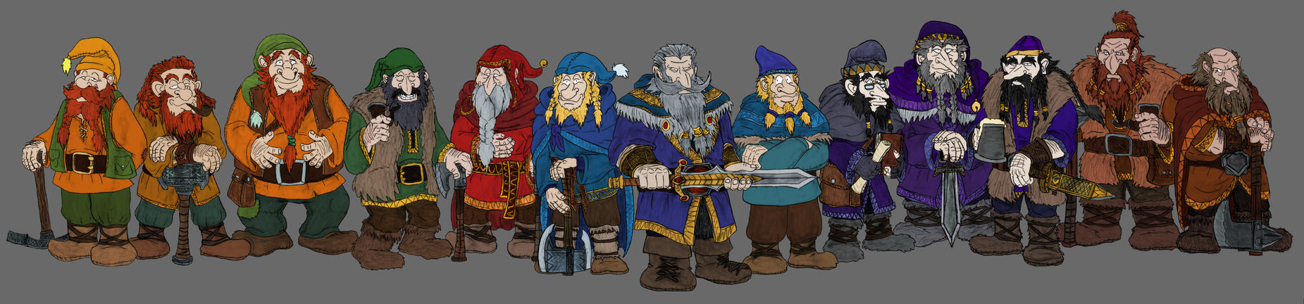 Thorin and Company by Mara999
