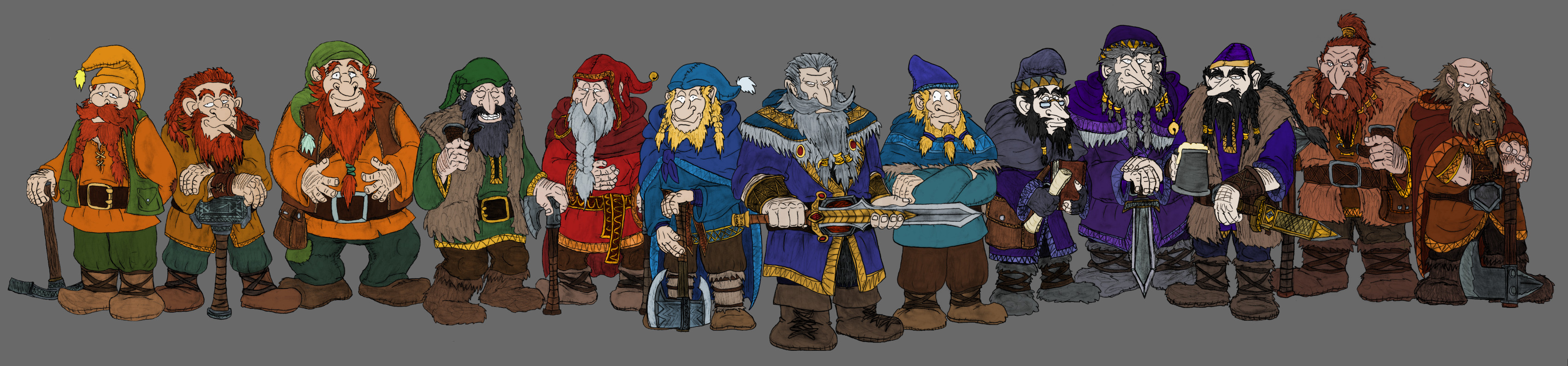Thorin and Company by Mara999