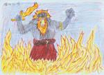 Surtr, king of Muspelheim by Mara999