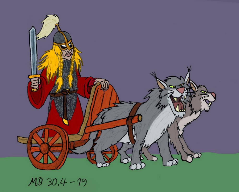 Freya S Chariot By Mara999 On Deviantart