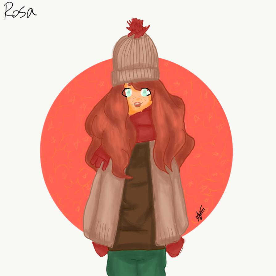 Rose, my original character by annziasofia