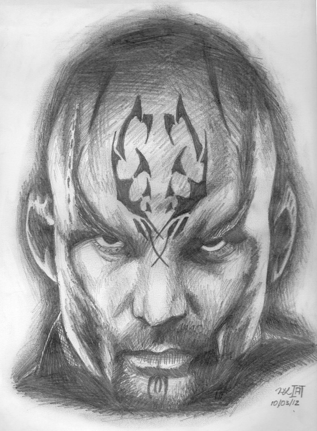 Nero Sketch Star Trek - Nero Sketc...