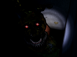 FNaF4 Nightmare Springtrap [Fan-Made] by CorruptedSpringtrap
