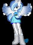 Commission  Equestria Girls: Snowblossom