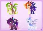 .:Alatus Bonsai Ponies Auction (CLOSED):.