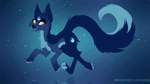 Moon Neon Furry