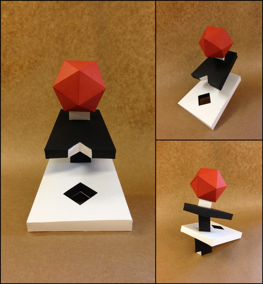 Platonic Solid Construction by hglucky13Platonic Solids Art