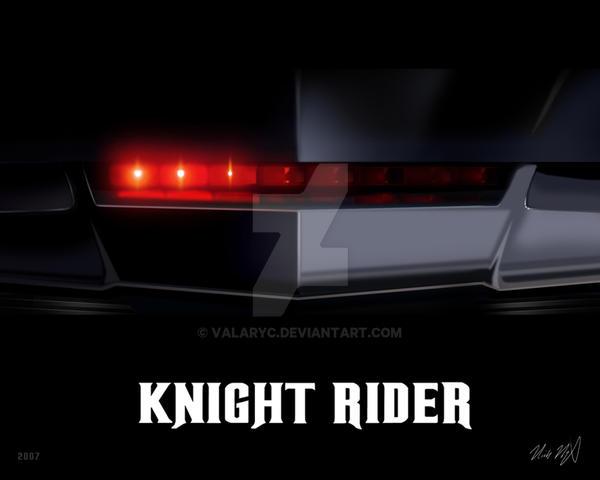 Knight Rider 8x10 by valaryc