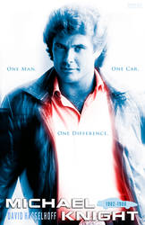 Michael Knight - One Man Poster