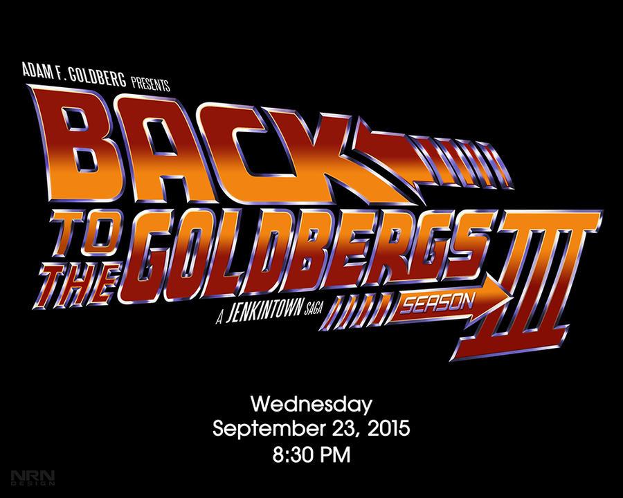 Back to The Goldbergs Logo Fan Art