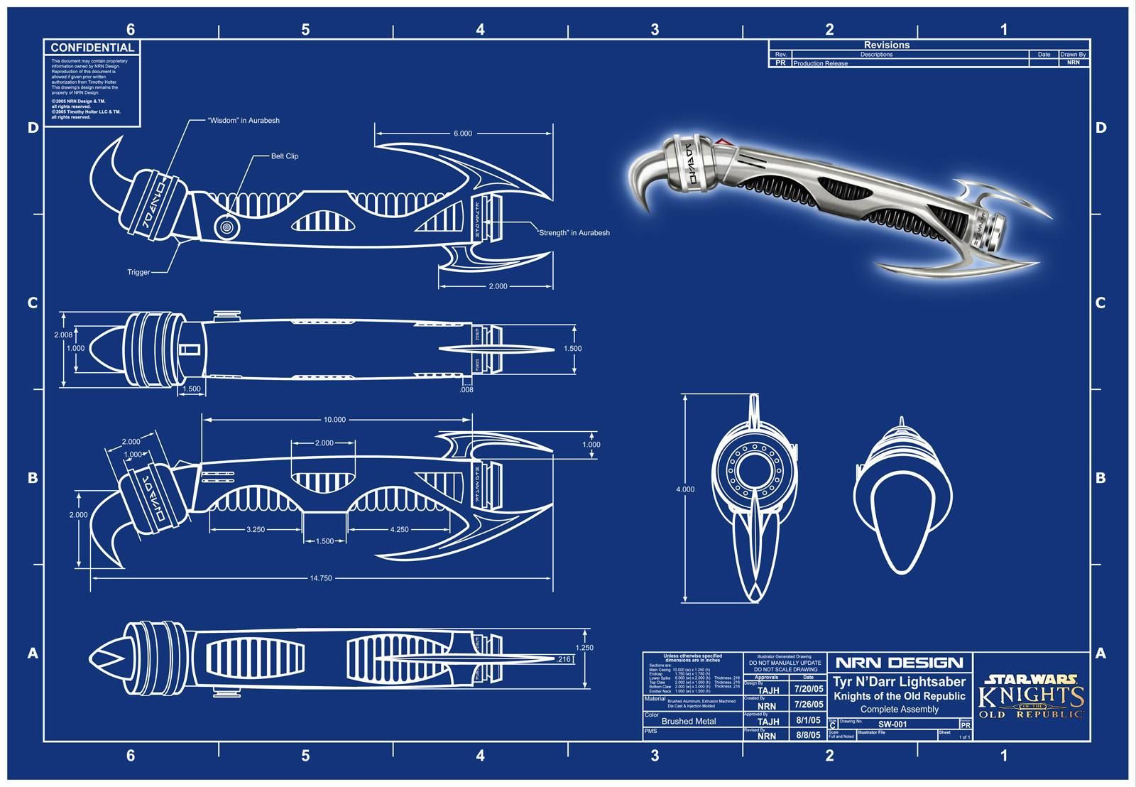 tim 39 s lightsaber blueprint by valaryc on deviantart. Black Bedroom Furniture Sets. Home Design Ideas