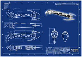 Tim's Lightsaber Blueprint... by valaryc