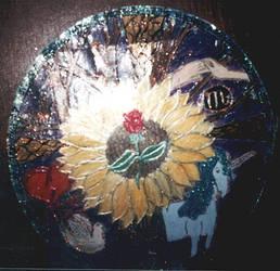 Sunflower Mandala by ivoryisis