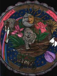 Trust Mandala by ivoryisis