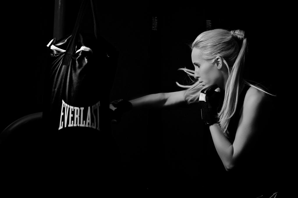 Jessica Punching Bag by AquarianPhotography on DeviantArt