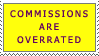 Screw Commissions Stamp by tmma1869
