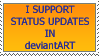 Status Updates Stamp by tmma1869
