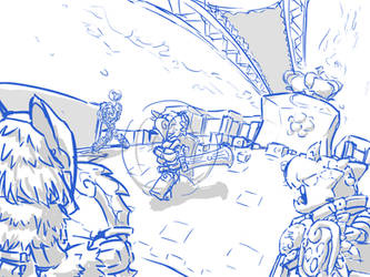 SK Art Contest Preview 2: Line by stregawolf