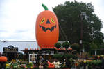 Halloween At the Garden Shop