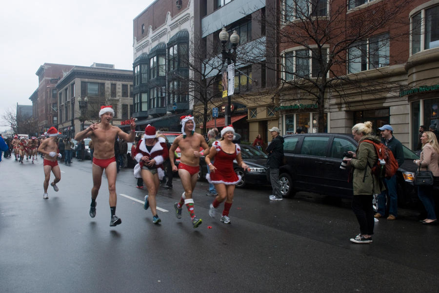 Santa Speedo Run, the Spirit Of Giving 17 by Miss-Tbones