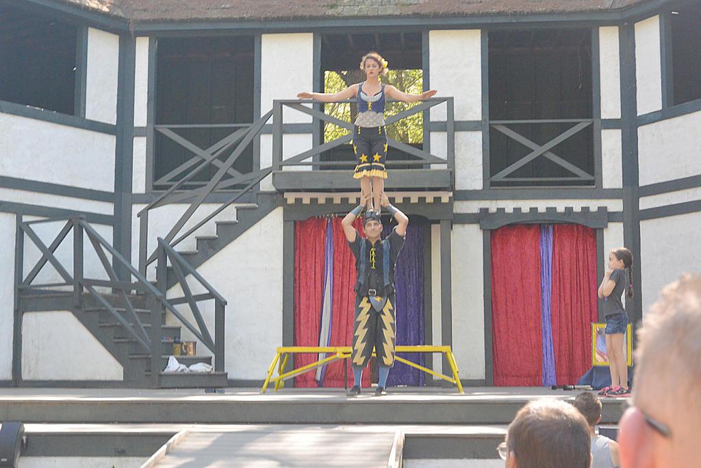 King Richard's Fair, Couple Acrobatics 7 by Miss-Tbones