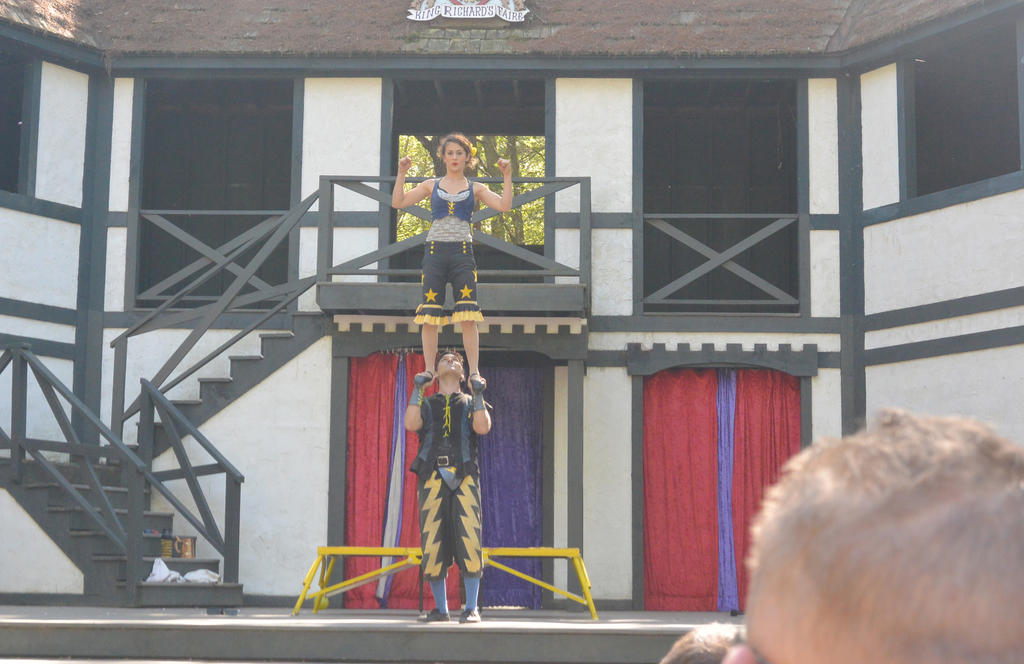 King Richard's Fair, Couple Acrobatics 8 by Miss-Tbones