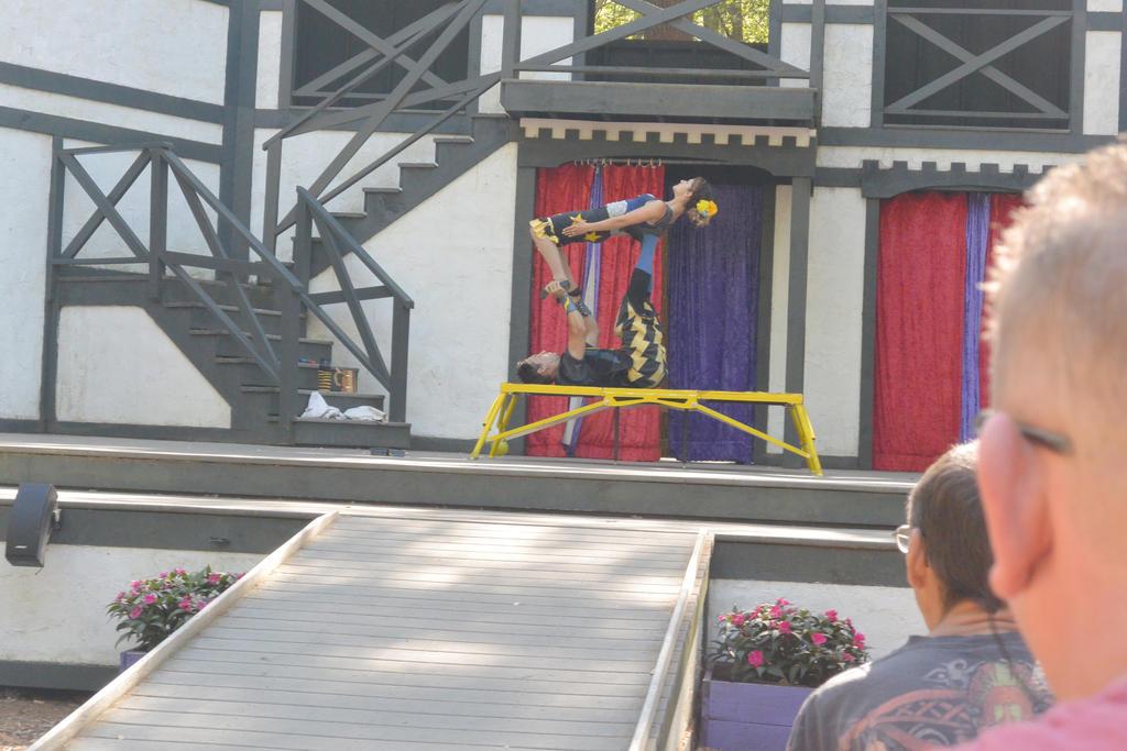 King Richard's Fair, Couple Acrobatics 9 by Miss-Tbones