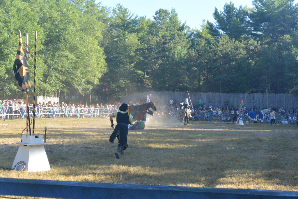 King Richard's Fair, Noble Knight Down by Miss-Tbones