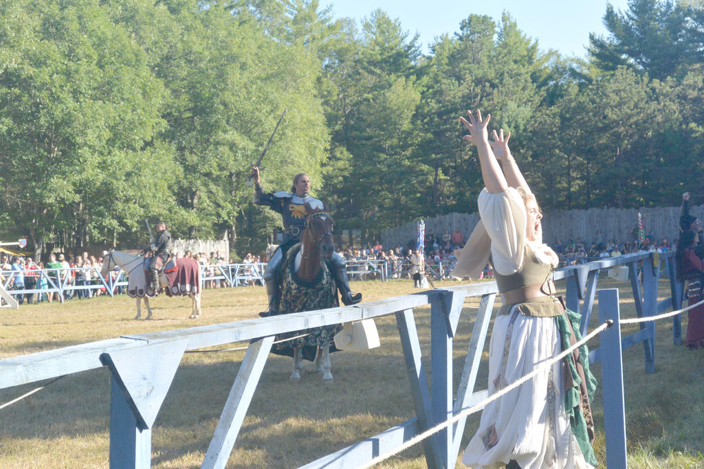 King Richard's Fair, Noble Knight and Victory Yell by Miss-Tbones