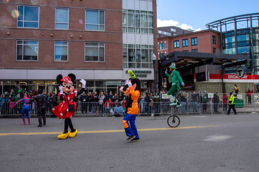 Disney In the St Patricks Day Parade 2 by Miss-Tbones