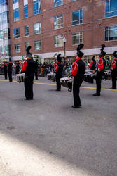 Drumming Down the Street, St. Patricks Day Parade by Miss-Tbones