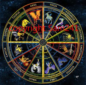The Zodiac Circle by sam241