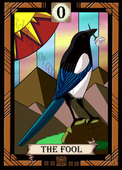 Bird Tarot- The Fool