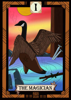 Bird Tarot- the Magician