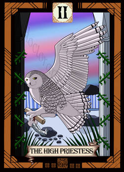 Bird Tarot- the High Priestess