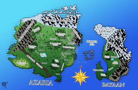 Azaria Updated Map