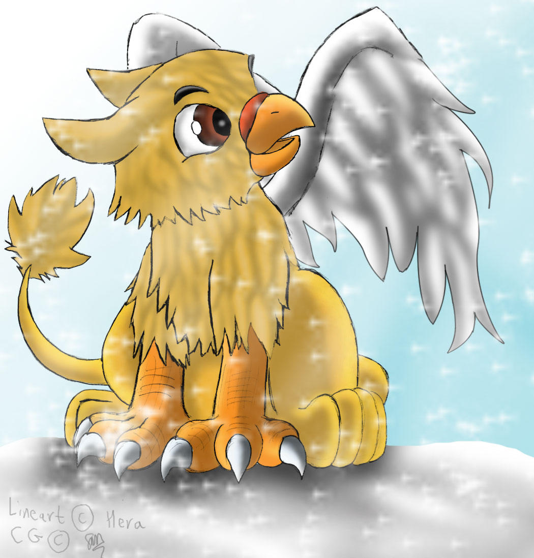 Baby griffin by sam241 on deviantart for The griffin