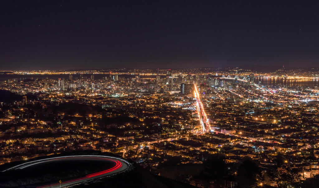 San Francisco Skyline by modabich