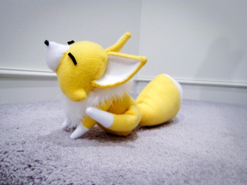 Scratch Fox Star Driver Plush